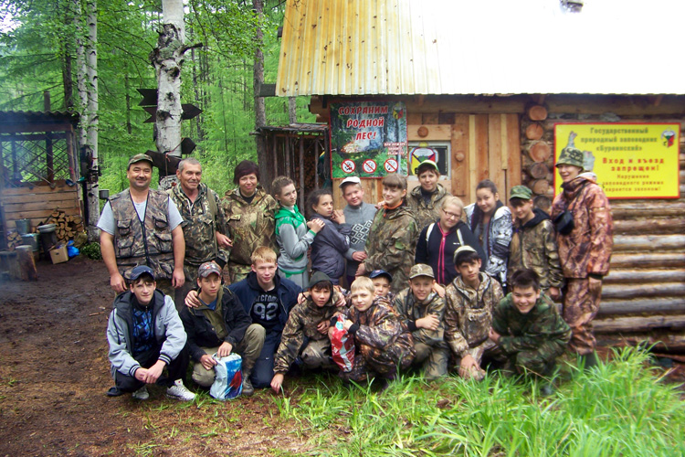 Эколагерь «Кедровка» на кордоне «Медвежий»