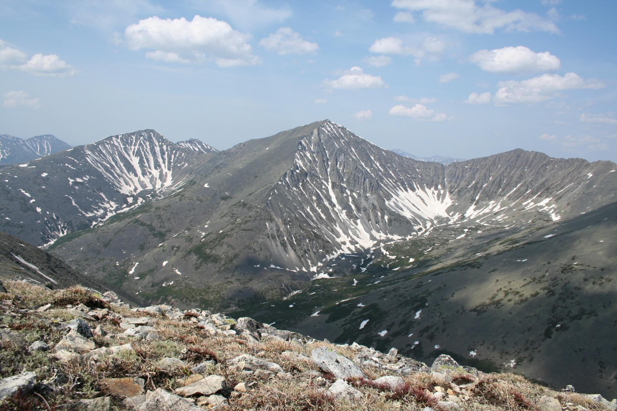 Вид на заповедник с горной вершины