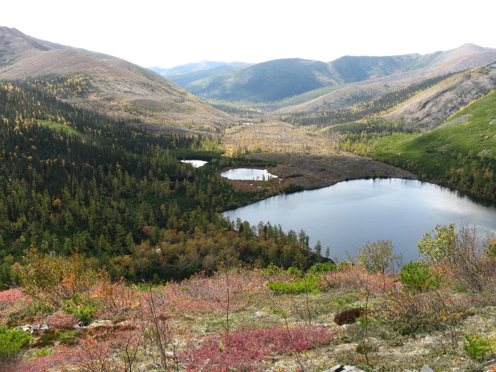 Осень на озере Корбохон