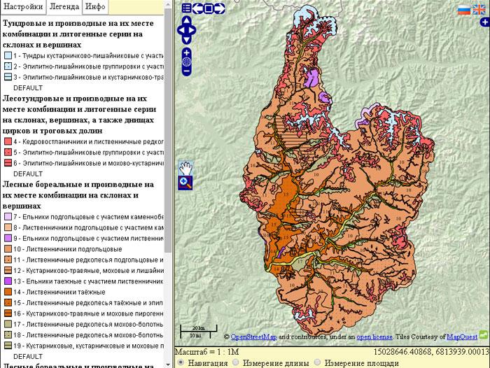 карта-растительности