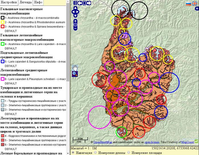Карта-ядер-макрокомбинаций-растительности